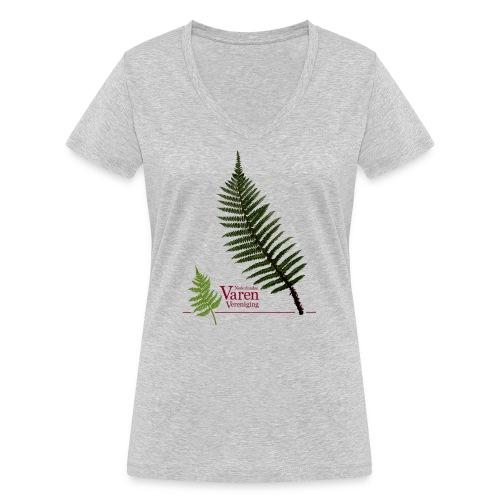 Polyblepharum - Vrouwen bio T-shirt met V-hals van Stanley & Stella