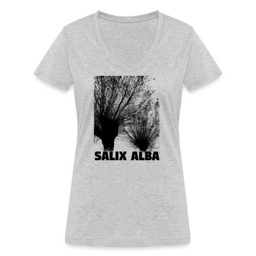 salix albla - Women's Organic V-Neck T-Shirt by Stanley & Stella