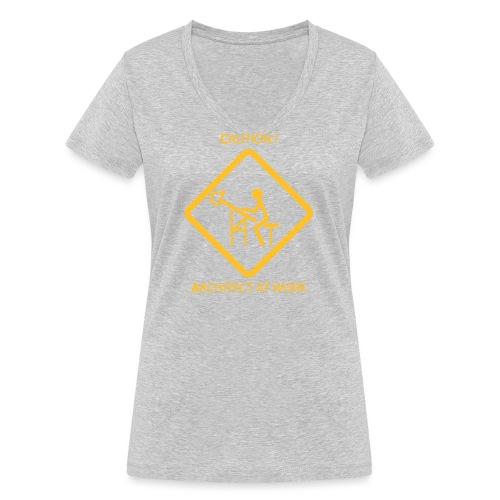 Architect at work - T-shirt ecologica da donna con scollo a V di Stanley & Stella