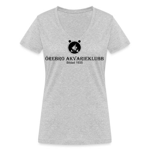 Nyloggatext1 - Ekologisk T-shirt med V-ringning dam från Stanley & Stella