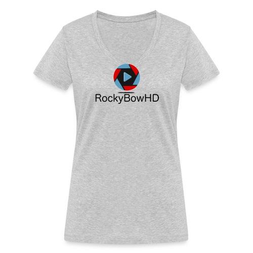 RockyBowHD - Frauen Bio-T-Shirt mit V-Ausschnitt von Stanley & Stella