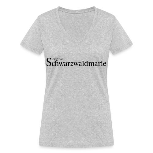 Schwarzwaldmarie - Frauen Bio-T-Shirt mit V-Ausschnitt von Stanley & Stella