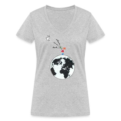 Come back - Frauen Bio-T-Shirt mit V-Ausschnitt von Stanley & Stella
