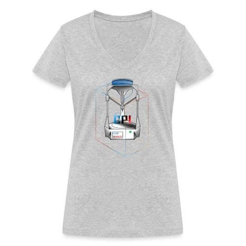 New Logo CPI - T-shirt bio col V Stanley & Stella Femme