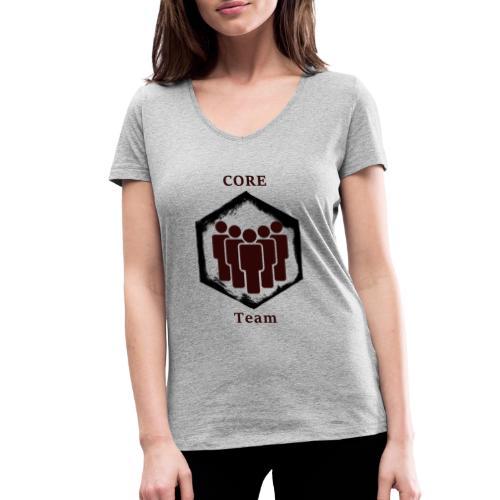 CoreTeam - Frauen Bio-T-Shirt mit V-Ausschnitt von Stanley & Stella