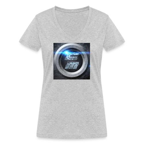 EasyMo0ad - Frauen Bio-T-Shirt mit V-Ausschnitt von Stanley & Stella