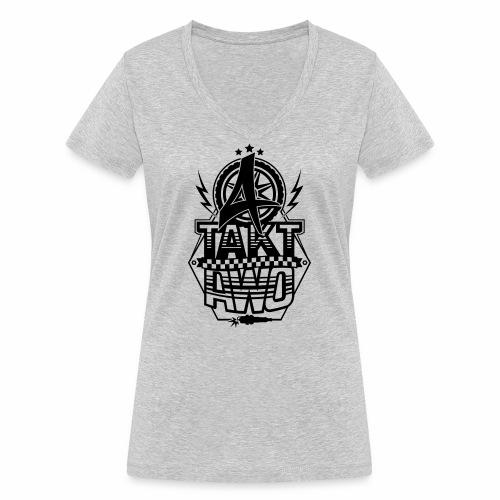4-Takt-Awo / Viertaktawo - Women's Organic V-Neck T-Shirt by Stanley & Stella