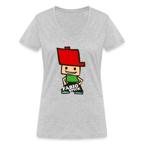 Fabio Spick - Frauen Bio-T-Shirt mit V-Ausschnitt von Stanley & Stella