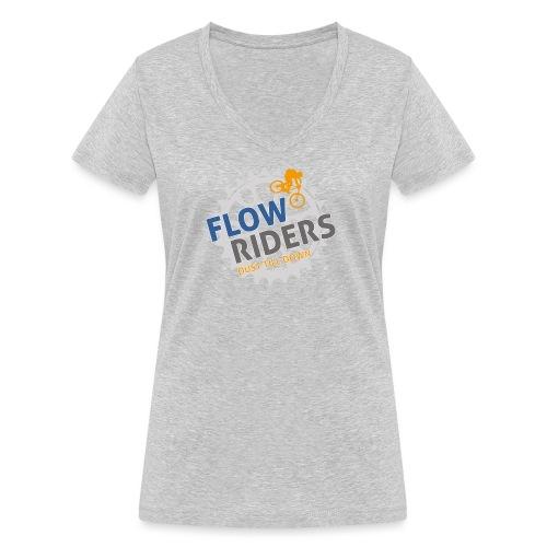 FLOWRIDERS - dust till down - Frauen Bio-T-Shirt mit V-Ausschnitt von Stanley & Stella