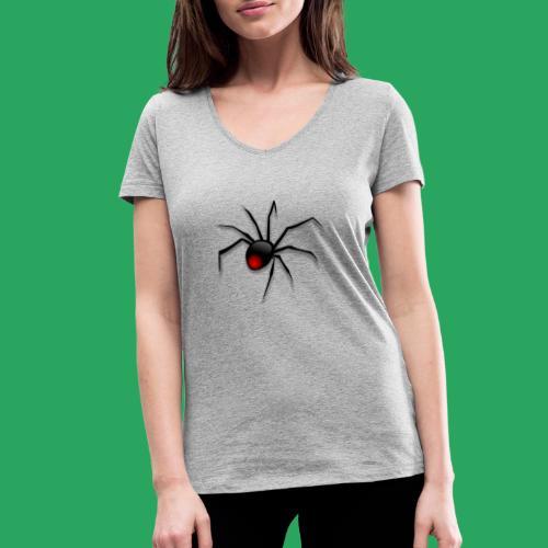 spider logo fantasy - T-shirt ecologica da donna con scollo a V di Stanley & Stella