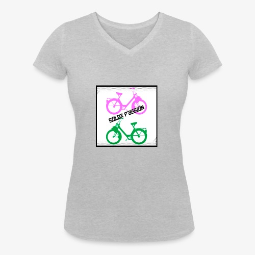 passion 4 - T-shirt bio col V Stanley & Stella Femme