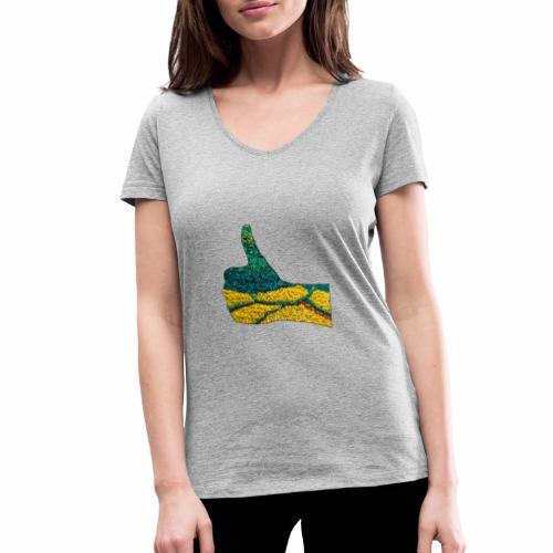 D'accord, c'est Ok - T-shirt bio col V Stanley & Stella Femme