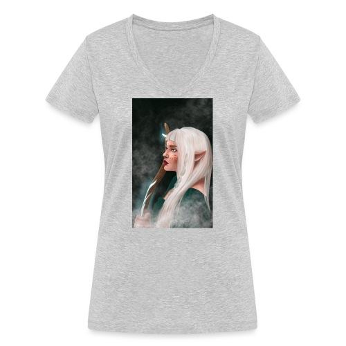 elf - Ekologiczna koszulka damska z dekoltem w serek Stanley & Stella