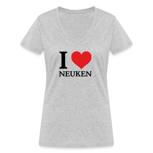 iloveneuken - Vrouwen bio T-shirt met V-hals van Stanley & Stella