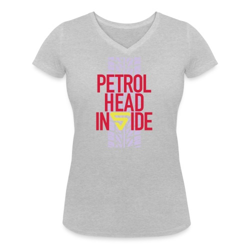 Petrolhead inside - T-shirt bio col V Stanley & Stella Femme
