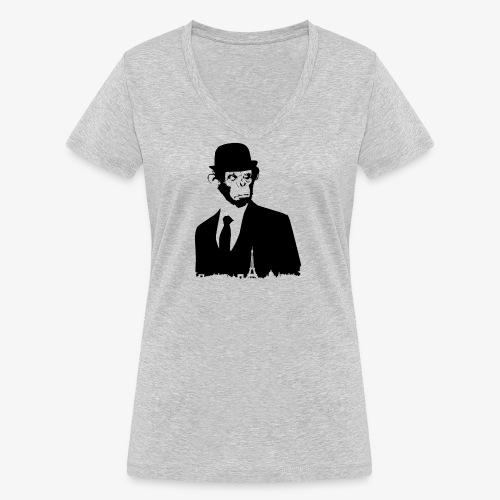 COLLECTION *BLACK MONKEY PARIS* - T-shirt bio col V Stanley & Stella Femme