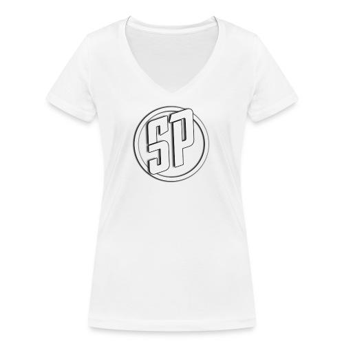 SPLogo - Women's Organic V-Neck T-Shirt by Stanley & Stella