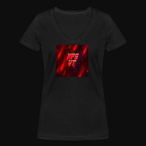 NFGYT - Women's Organic V-Neck T-Shirt by Stanley & Stella