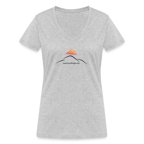 auroracottage.com - Frauen Bio-T-Shirt mit V-Ausschnitt von Stanley & Stella