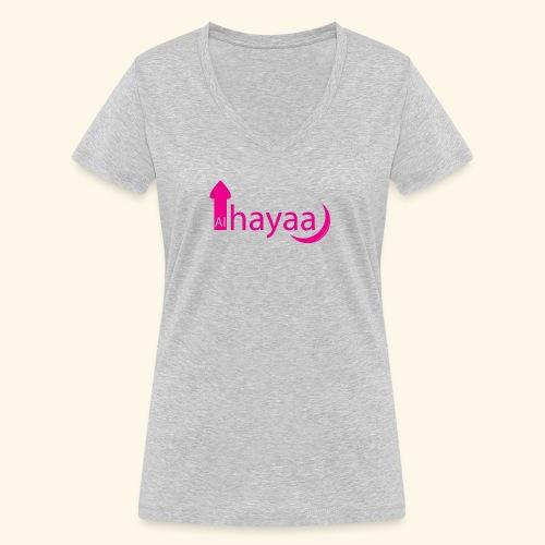 Al Hayaa - T-shirt bio col V Stanley & Stella Femme