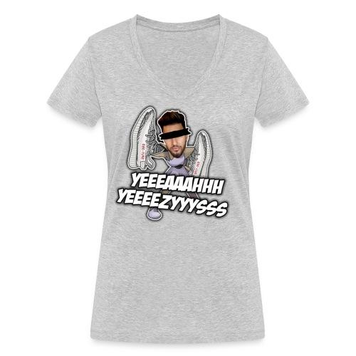 Yeah Yeezys! - Frauen Bio-T-Shirt mit V-Ausschnitt von Stanley & Stella
