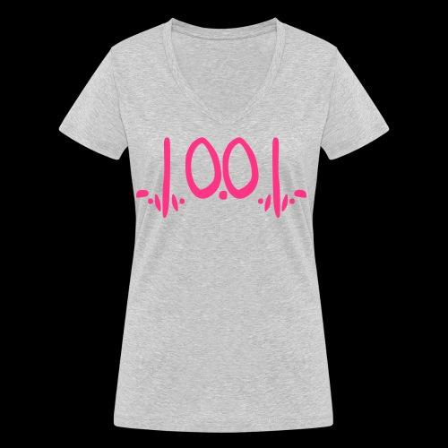 fukOf - Frauen Bio-T-Shirt mit V-Ausschnitt von Stanley & Stella