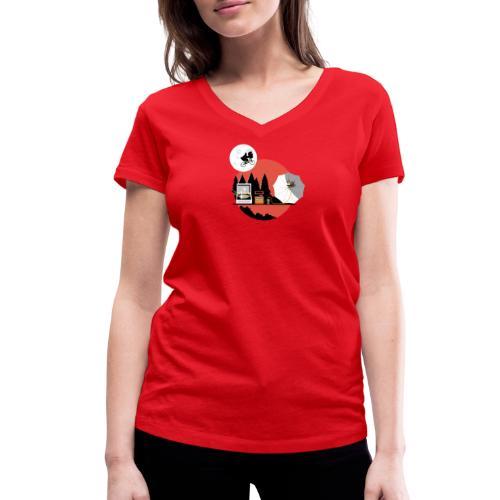 Homeworld - T-shirt bio col V Stanley & Stella Femme