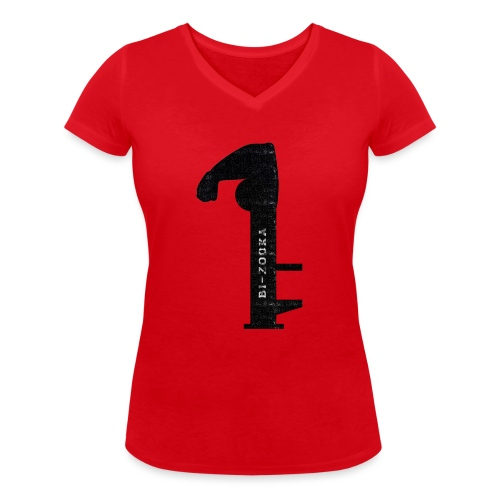 bi zooka - Økologisk Stanley & Stella T-shirt med V-udskæring til damer