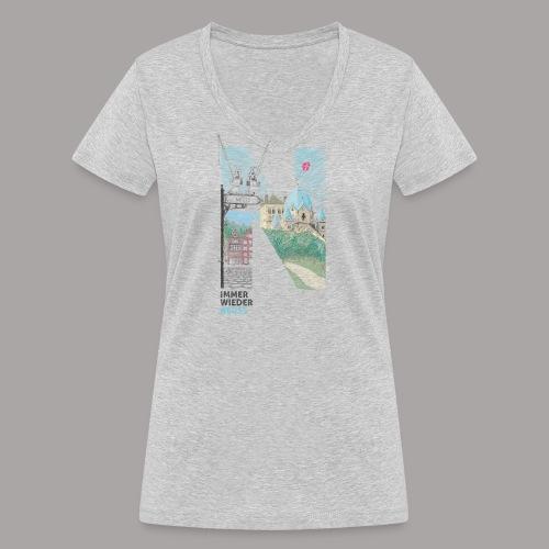 Immer wieder Neuss Tshirt für Kinder von MaximN - Frauen Bio-T-Shirt mit V-Ausschnitt von Stanley & Stella