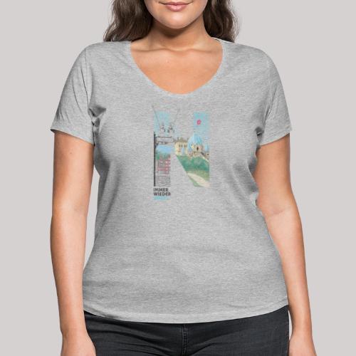 Immer wieder Neuss - Frauen Bio-T-Shirt mit V-Ausschnitt von Stanley & Stella