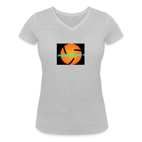 LOGO PixForCraft (Le logo de Juin 2017) - T-shirt bio col V Stanley & Stella Femme