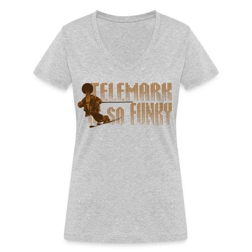 Telemark is so Funky - T-shirt bio col V Stanley & Stella Femme