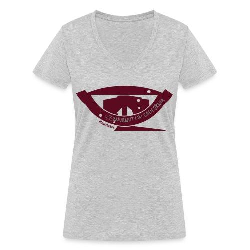 Benvenuti in California - T-shirt ecologica da donna con scollo a V di Stanley & Stella