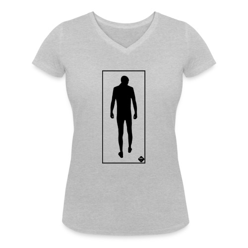 Man In Mirror - Ekologisk T-shirt med V-ringning dam från Stanley & Stella