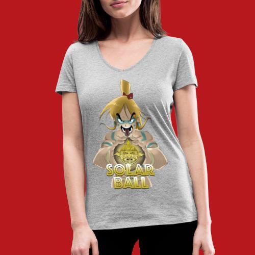 Ricco - T-shirt bio col V Stanley & Stella Femme
