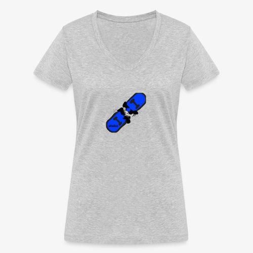 skateboard 512 - Økologisk Stanley & Stella T-shirt med V-udskæring til damer
