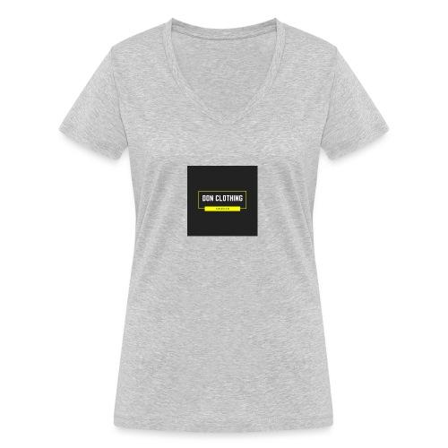 Don kläder - Ekologisk T-shirt med V-ringning dam från Stanley & Stella