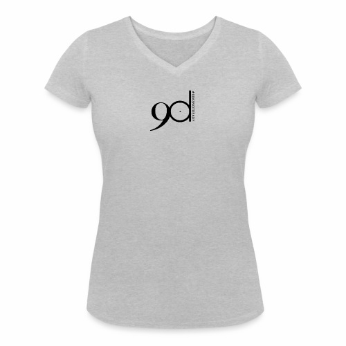 logoNoir - Frauen Bio-T-Shirt mit V-Ausschnitt von Stanley & Stella