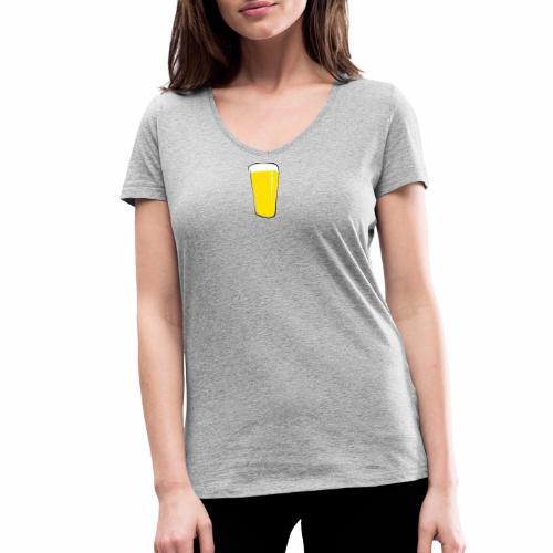 Barski ™ - Women's Organic V-Neck T-Shirt by Stanley & Stella
