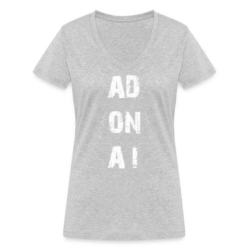 AD ON AI - Frauen Bio-T-Shirt mit V-Ausschnitt von Stanley & Stella
