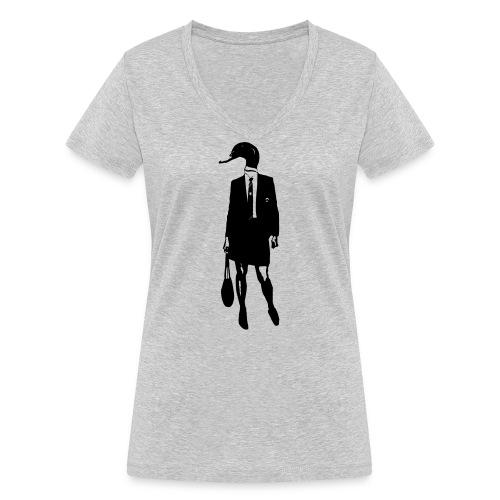 Duck - Vrouwen bio T-shirt met V-hals van Stanley & Stella