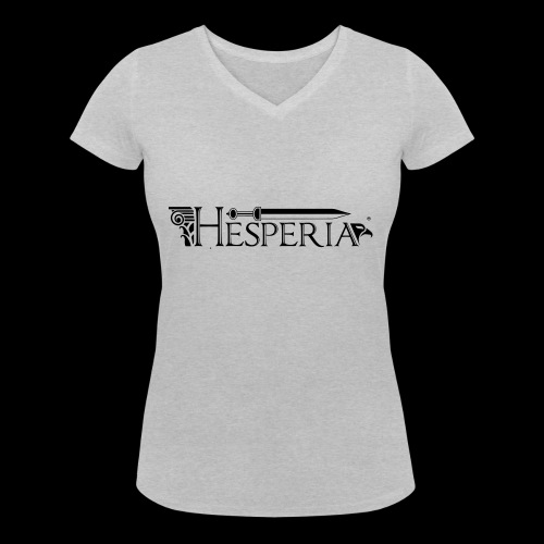 HESPERIA logo 2016 - Women's Organic V-Neck T-Shirt by Stanley & Stella