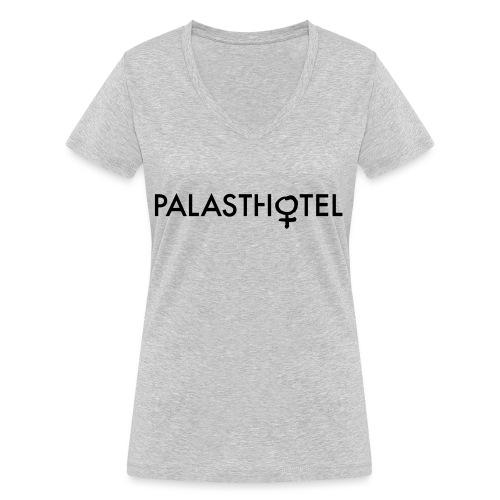 Palasthotel EMMA - Frauen Bio-T-Shirt mit V-Ausschnitt von Stanley & Stella