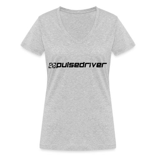 Pulsedriver Beanie - Women's Organic V-Neck T-Shirt by Stanley & Stella