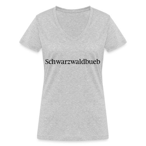 Schwarwaldbueb - T-Shirt - Frauen Bio-T-Shirt mit V-Ausschnitt von Stanley & Stella