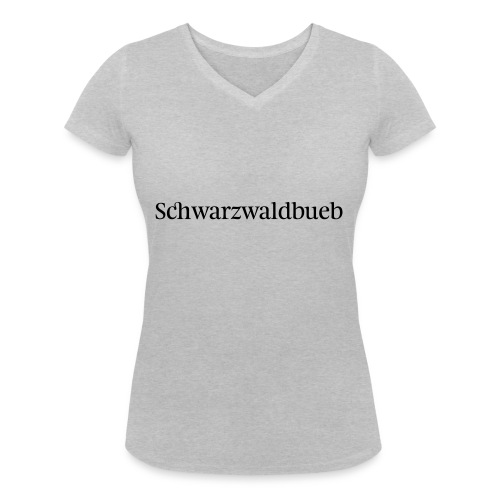 Schwarwaödbueb - T-Shirt - Frauen Bio-T-Shirt mit V-Ausschnitt von Stanley & Stella