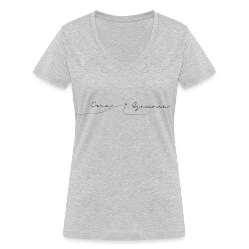 ona i escuma - Camiseta ecológica mujer con cuello de pico de Stanley & Stella