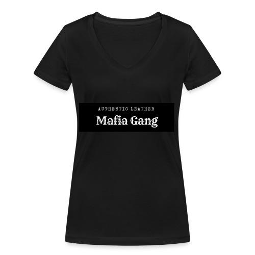 Mafia Gang - Nouvelle marque de vêtements - T-shirt bio col V Stanley & Stella Femme