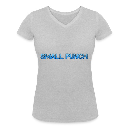 small punch merch - Women's Organic V-Neck T-Shirt by Stanley & Stella