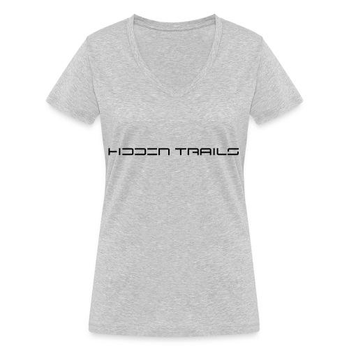 hidden trails - Frauen Bio-T-Shirt mit V-Ausschnitt von Stanley & Stella